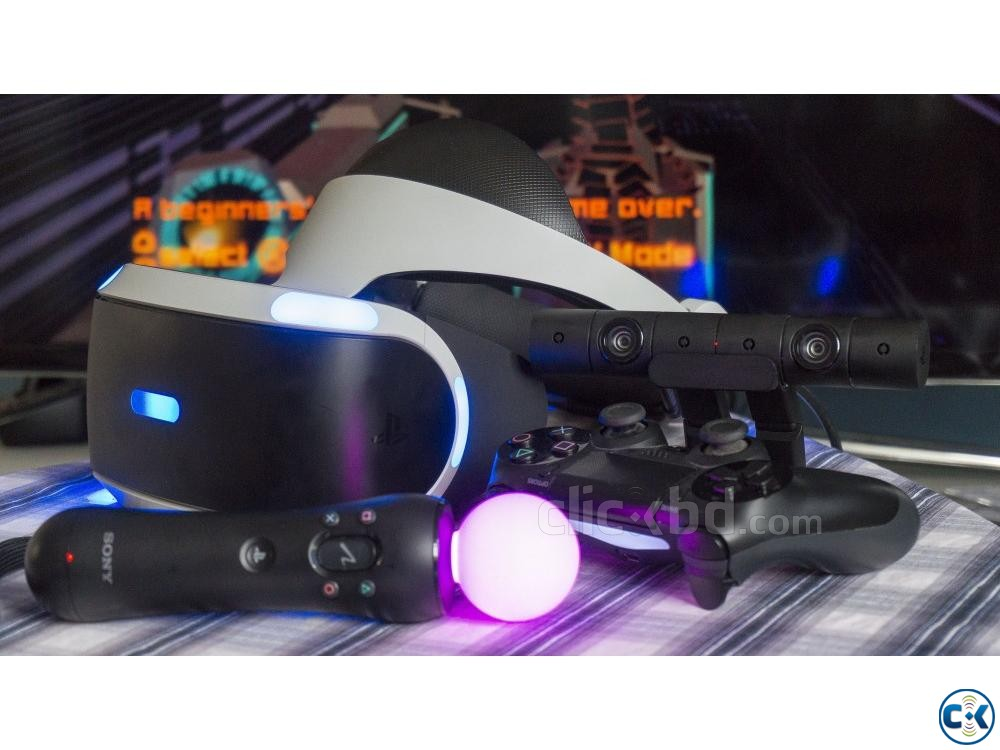 Sony PS VR Gear with 3D Audio and some VR Title | ClickBD large image 3