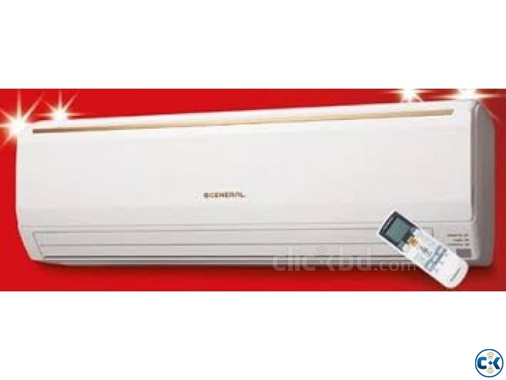 2.5 TON O General Fujitsu wall mounted Split AC 30000 BTU | ClickBD large image 0