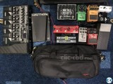 Clearance sell Guitar pedal and accessories