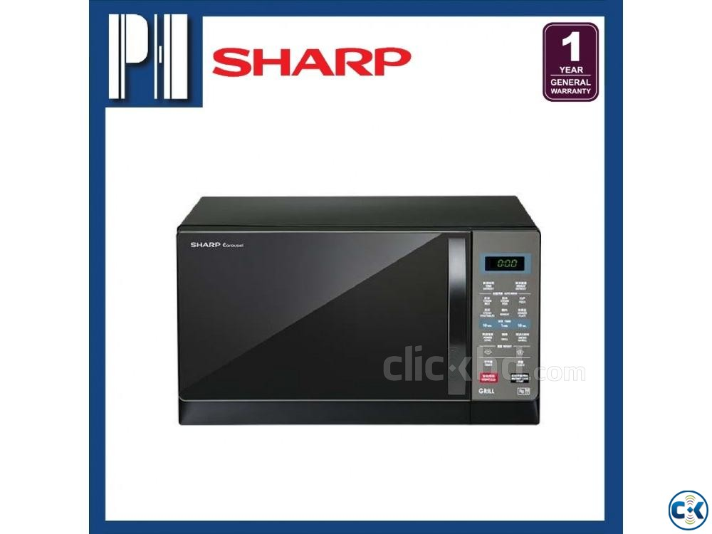 SHARP R607EK 25L MICROWAVE OVEN GRILL TOUCH AND CONVENIENCE | ClickBD large image 1