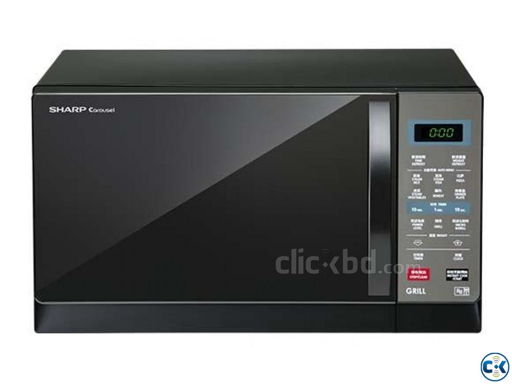 SHARP R607EK 25L MICROWAVE OVEN GRILL TOUCH AND CONVENIENCE | ClickBD large image 2