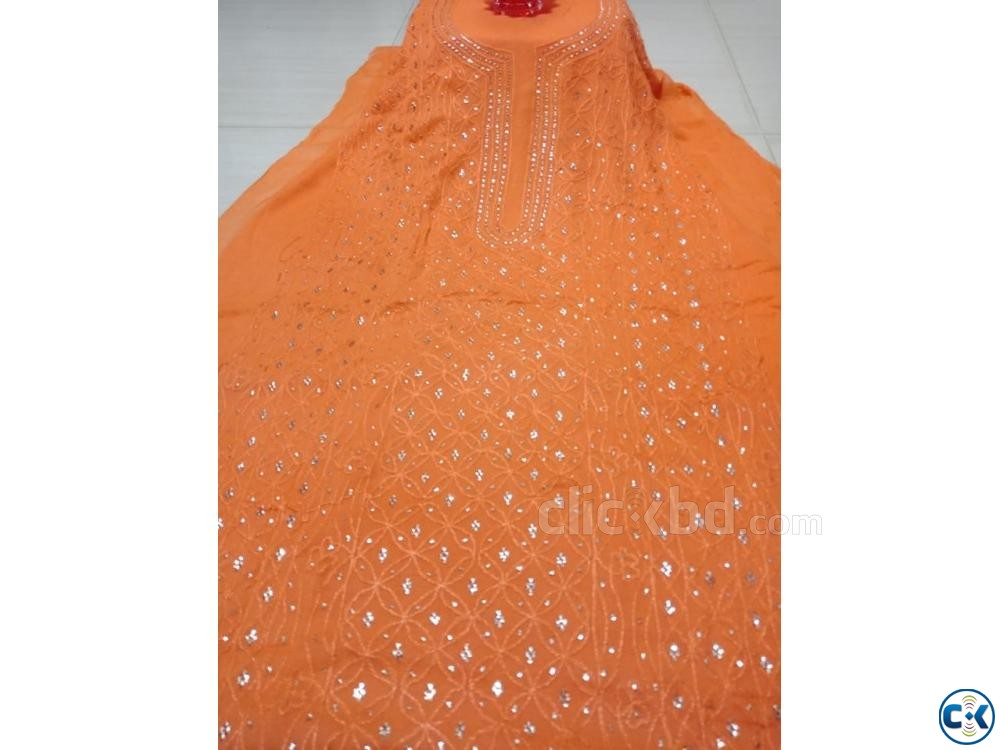 Pakistani Kamdani Dress | ClickBD large image 0