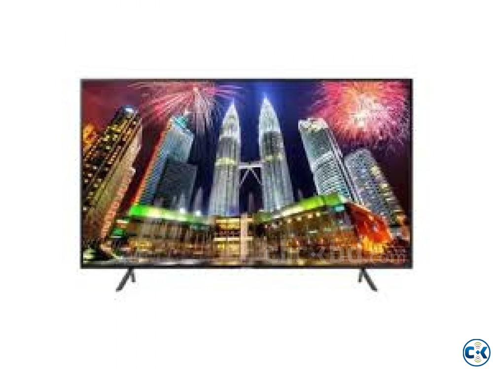 Samsung RU7100 43 4K UHD Slim Smart TV | ClickBD large image 1