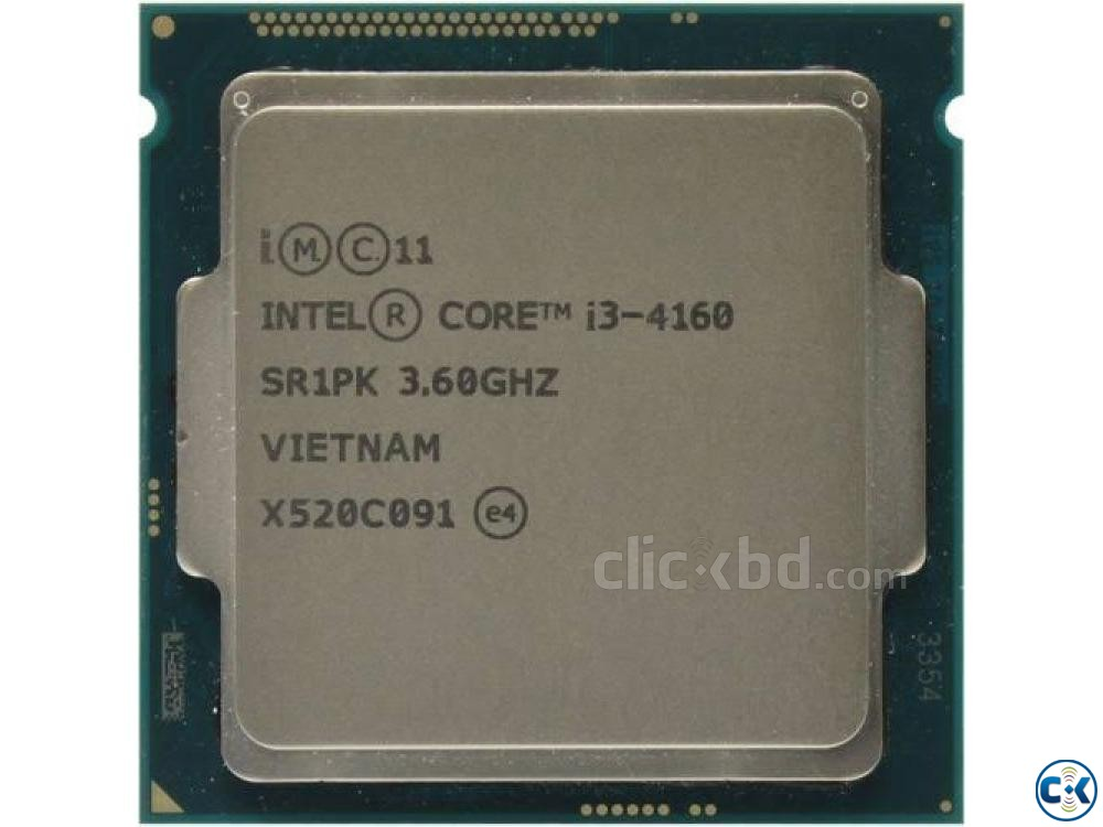 Intel Core i3 4160 4th gen | ClickBD large image 0