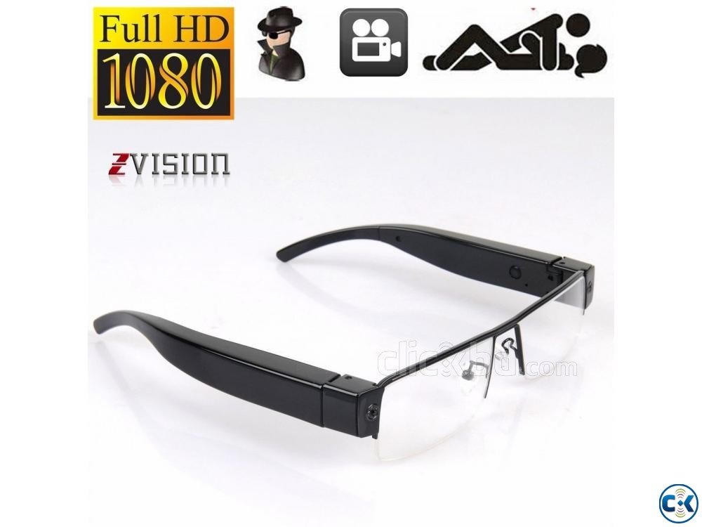 Spy Camera SunGlass 1080p | ClickBD large image 1