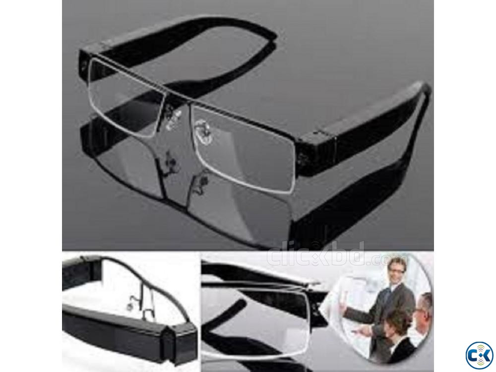 Spy Camera SunGlass 1080p | ClickBD large image 2