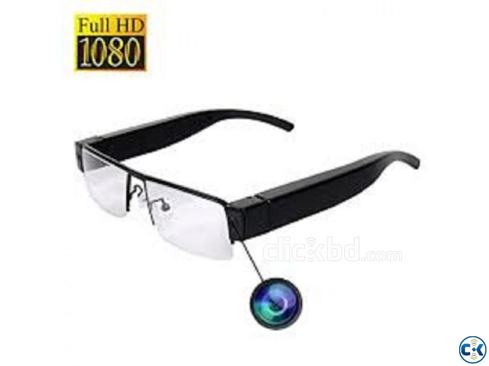 Spy Camera SunGlass 1080p | ClickBD large image 3