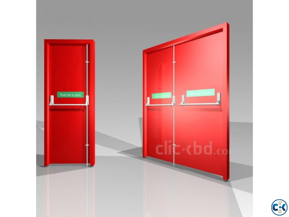 Mexin 3 Hour Rated UL listed Fire Door | ClickBD large image 1