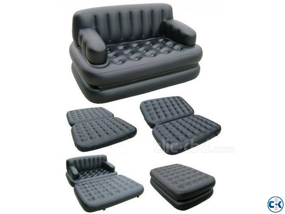 5 in 1 Air Bed Sofa Cum Bed New Version 01611288488 | ClickBD large image 0