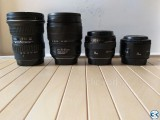 Lenses for sale Canon mount