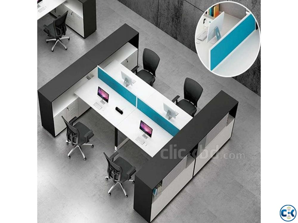 officeworkstation officedesk officedeskfurniture | ClickBD large image 0