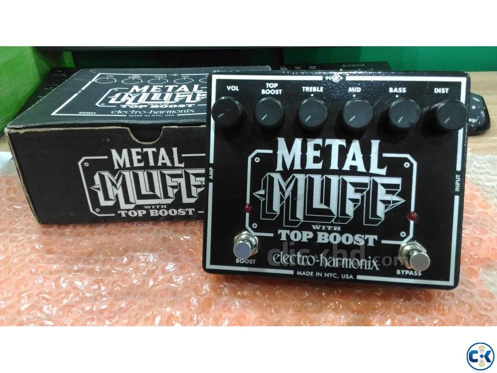 Metal Muff Distortion Pedal | ClickBD large image 0