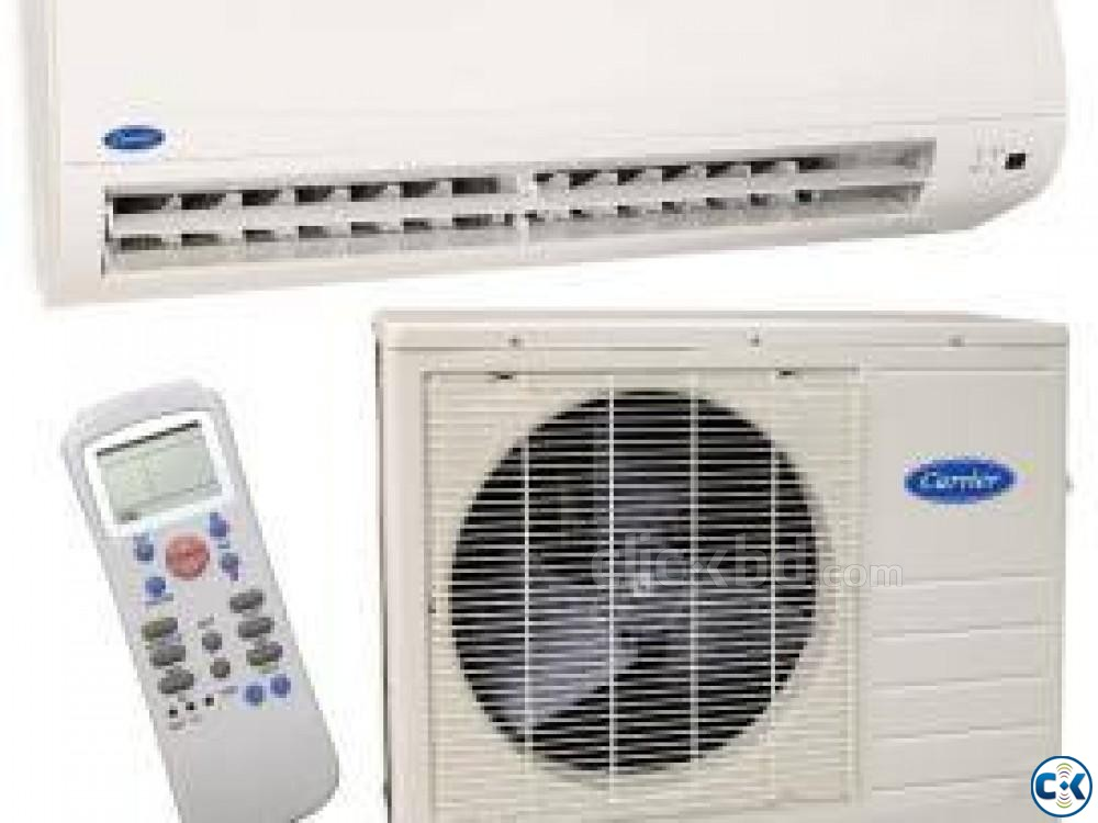 1.5 Ton Carrier Energy saving Split Type Air Conditioner AC | ClickBD large image 0