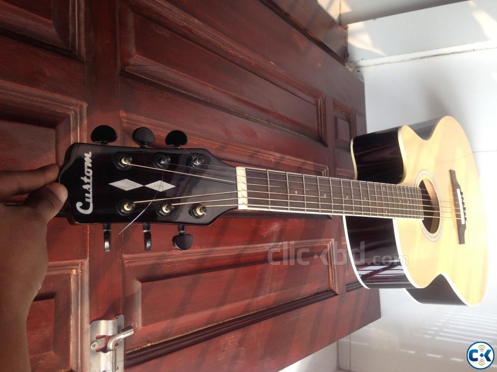 Acoustic guitar | ClickBD large image 0