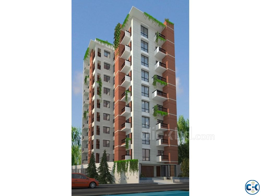 2250 sft single unit flat Bashundhara R A | ClickBD large image 0
