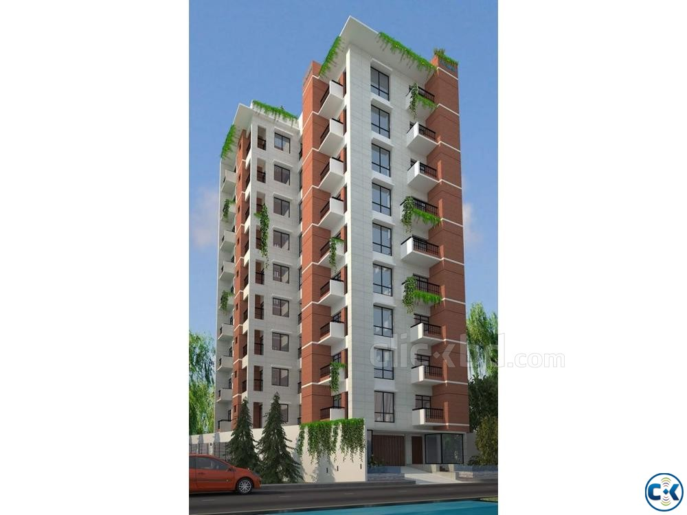 2250 sft single unit flat Bashundhara R A | ClickBD large image 3