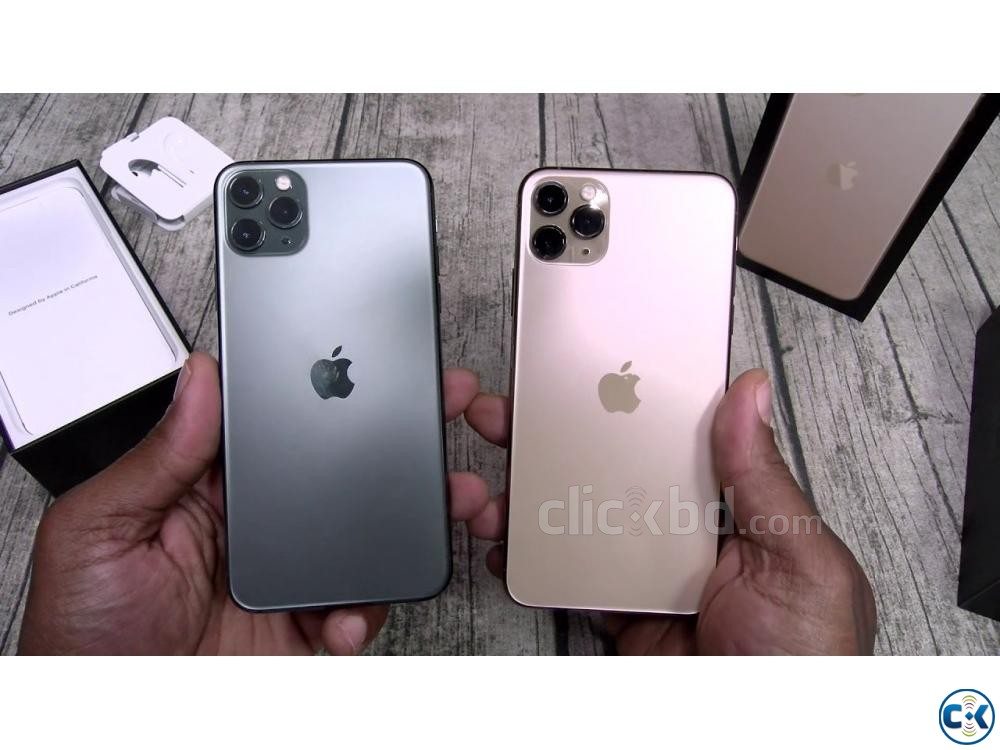 Apple iphone 11 Pro 64GB Green Grey Gold 4GB RAM  | ClickBD large image 3