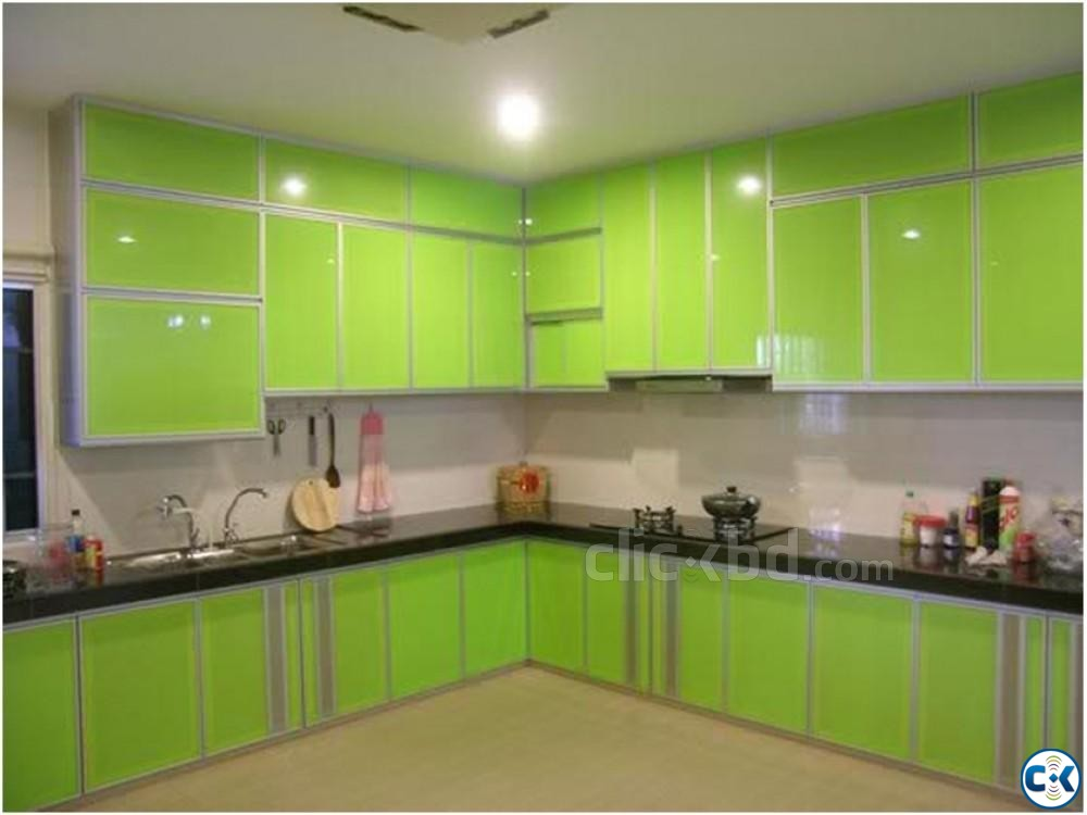 Kitchen Cabinet Interior Decoration | ClickBD large image 0