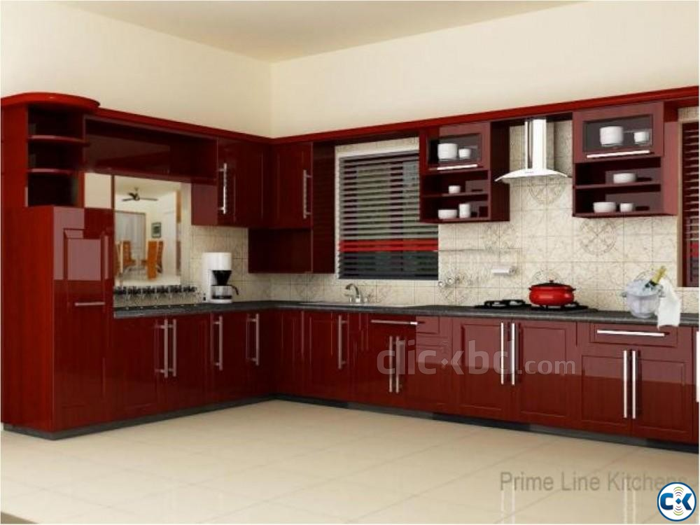 Kitchen Cabinet Interior Decoration | ClickBD large image 2