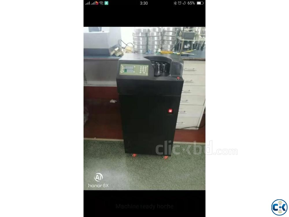 Money Counting Machine bundle note counting system | ClickBD large image 0