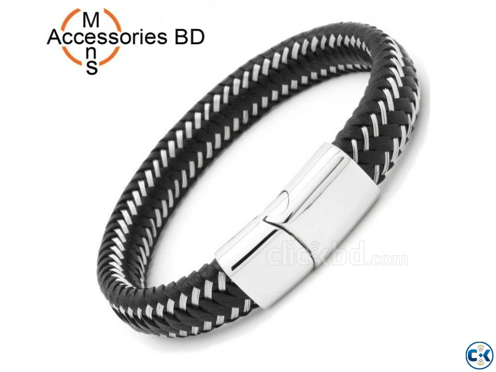 Men s Powerful Stainless Steel Bracelet | ClickBD large image 0