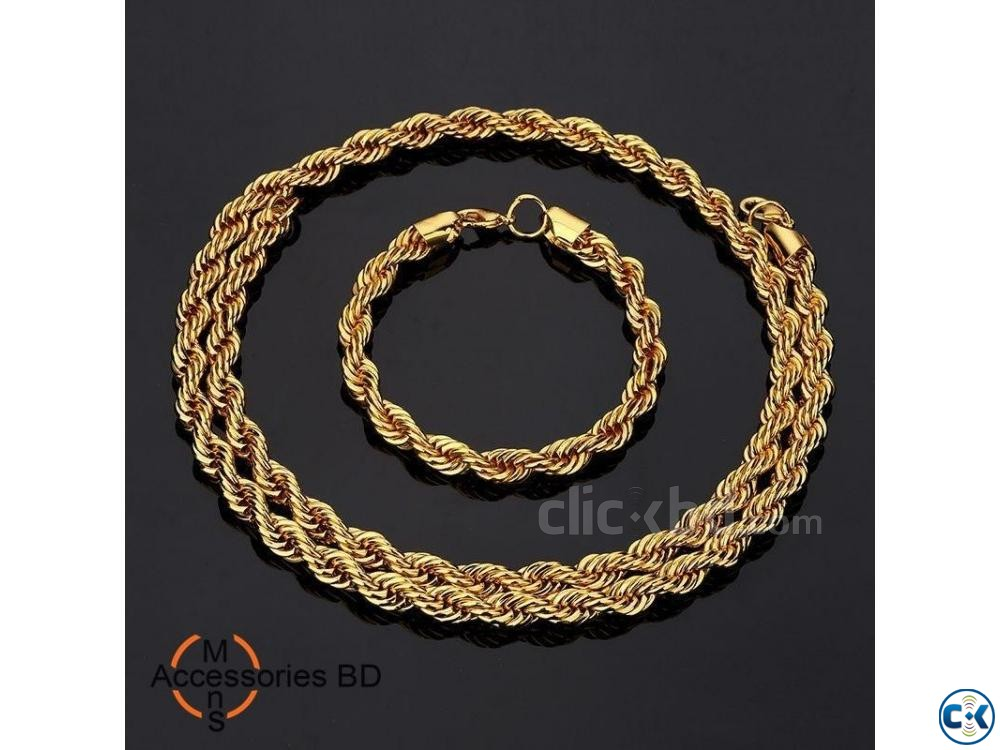 Men s Powerful Stainless Steel Chain Bracelet | ClickBD large image 0