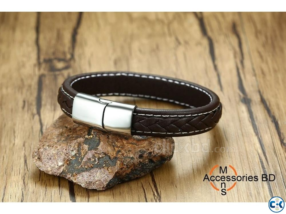 High-Quality New Leather Bracelet | ClickBD large image 0
