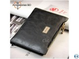 Casual Cowhide Men s Wallet.
