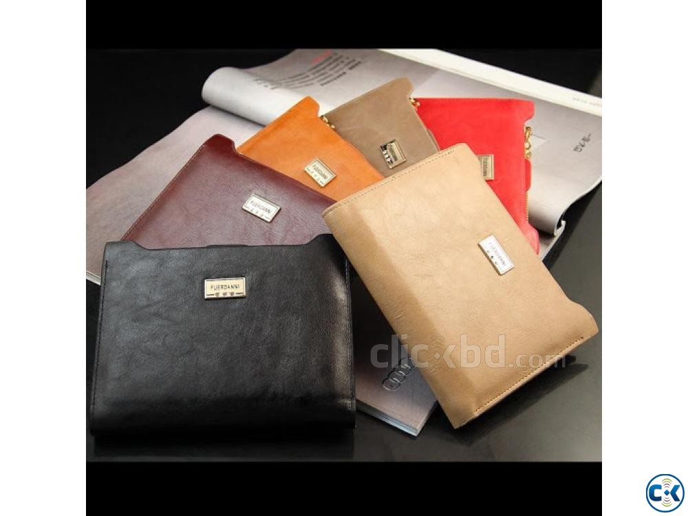 Casual Cowhide Men s Wallet. | ClickBD large image 1