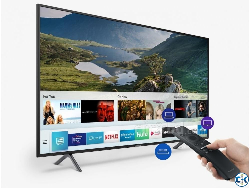 Samsung 55 RU7100 UHD Smart LED TV | ClickBD large image 1