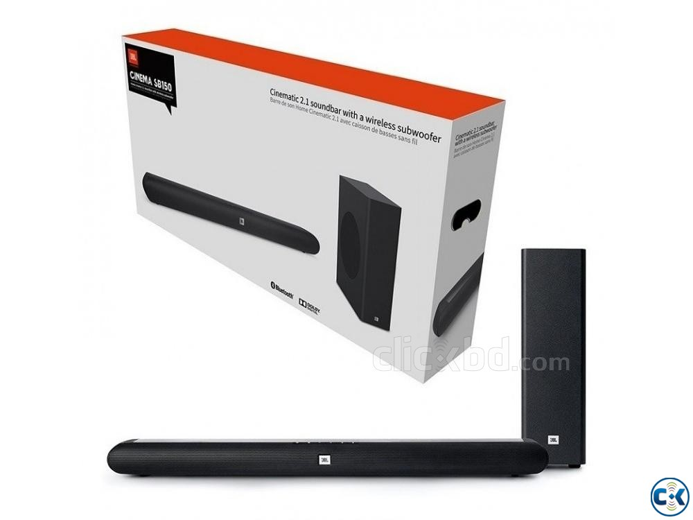 JBL Cinema SB150 Dolby Wireless Bluetooth Soundbar | ClickBD large image 0