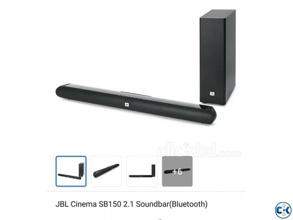 JBL Cinema SB150 Dolby Wireless Bluetooth Soundbar | ClickBD large image 2