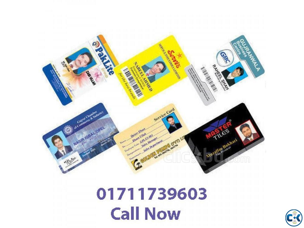 pvc card price in bd | ClickBD large image 1