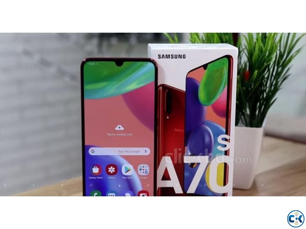 Samsung Galaxy A70s 128GB Black Blue 6GB RAM  | ClickBD large image 0