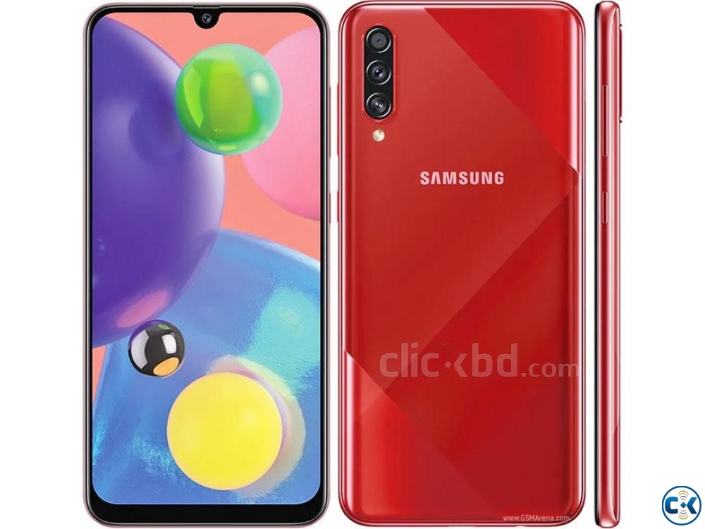 Samsung Galaxy A70s 128GB Black Blue 6GB RAM  | ClickBD large image 3