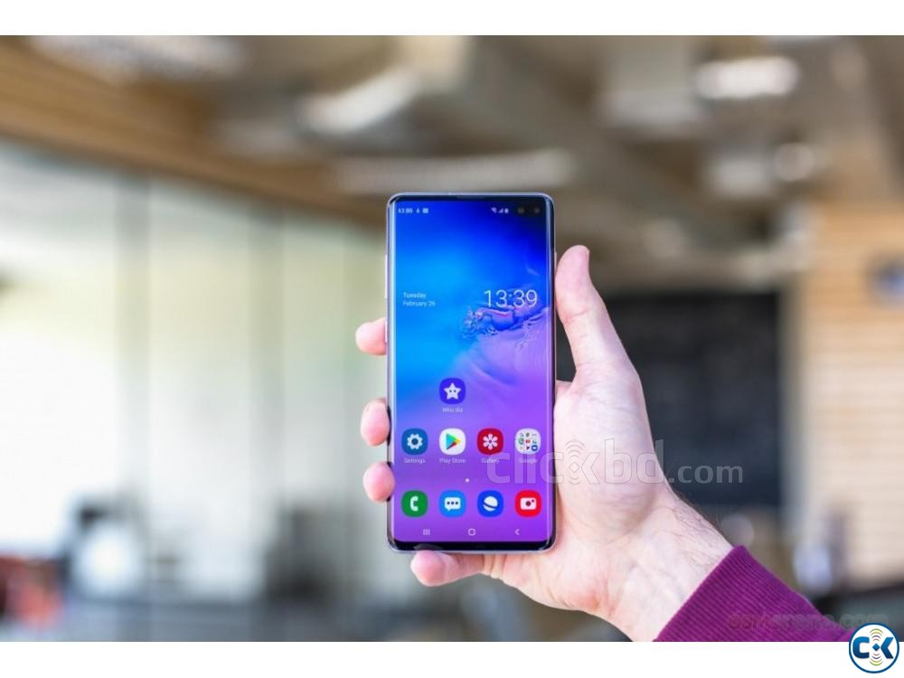 Samsung Galaxy S10 128GB Green Blue 8GB RAM  | ClickBD large image 3