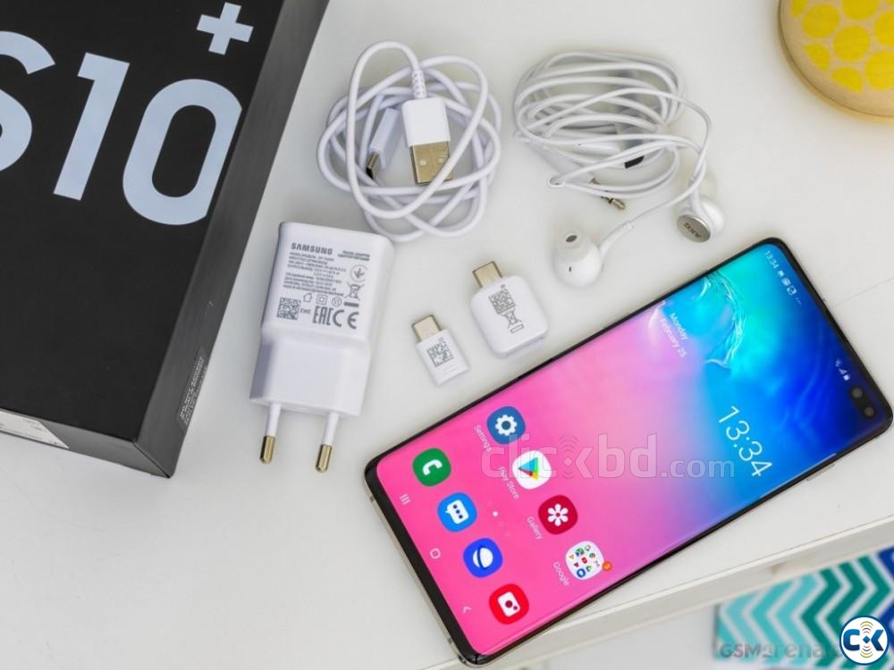 Samsung Galaxy S10 128GB Green Blue 8GB RAM  | ClickBD large image 4