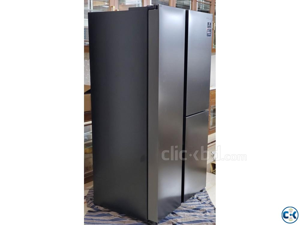 Brand New Samsung Refrigerator - Side-by-Side Type 689 Lit. | ClickBD large image 0