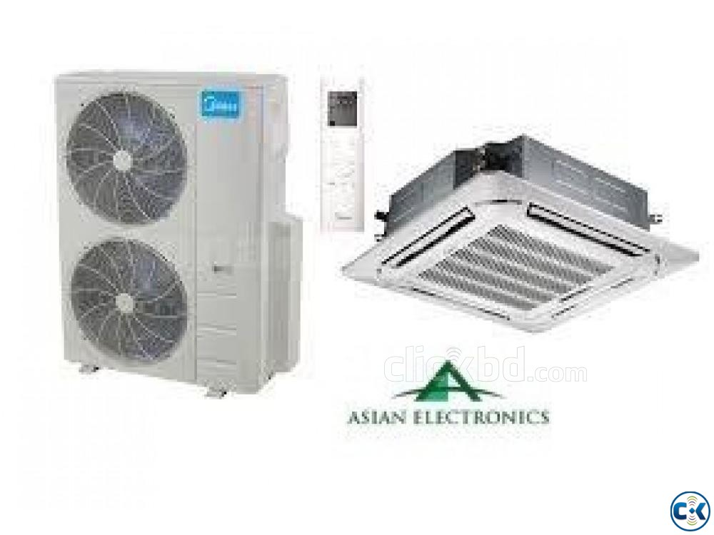 Midea 3.0 TON Air Conditioner Type Cassette Ceiling | ClickBD large image 0