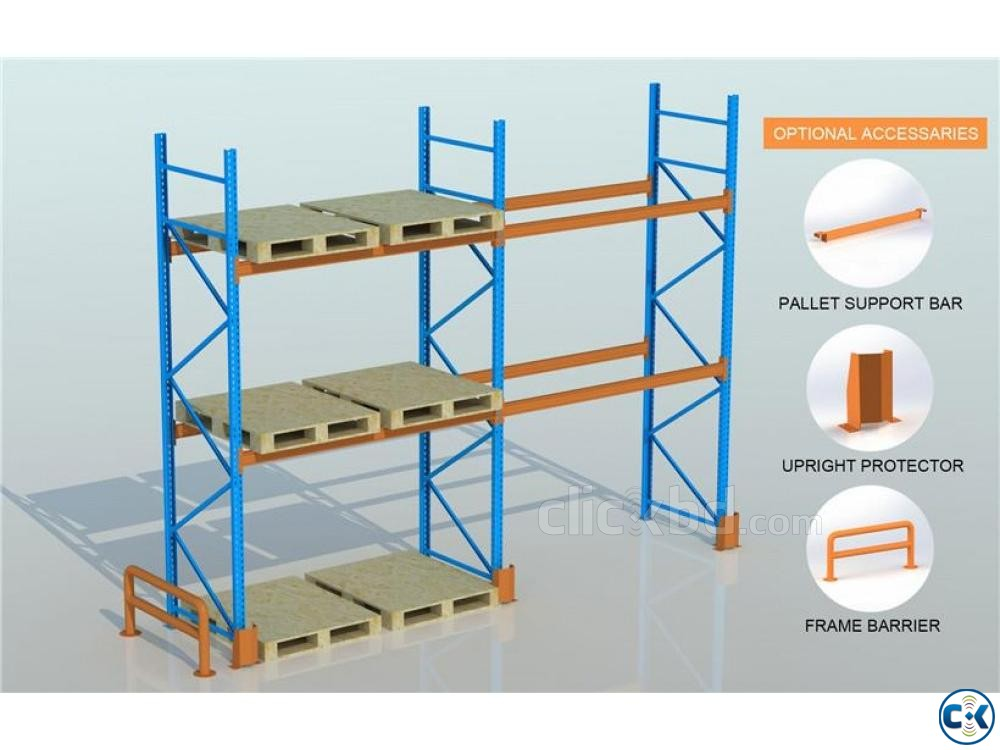 Industrial Warehouse Steel Rack-MinMax | ClickBD large image 0