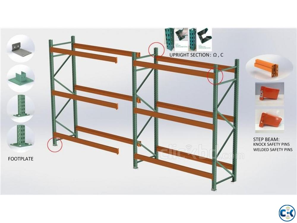 Industrial Warehouse Steel Rack-MinMax | ClickBD large image 1
