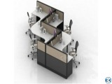 Cubicle WorkStation and Writing Desk