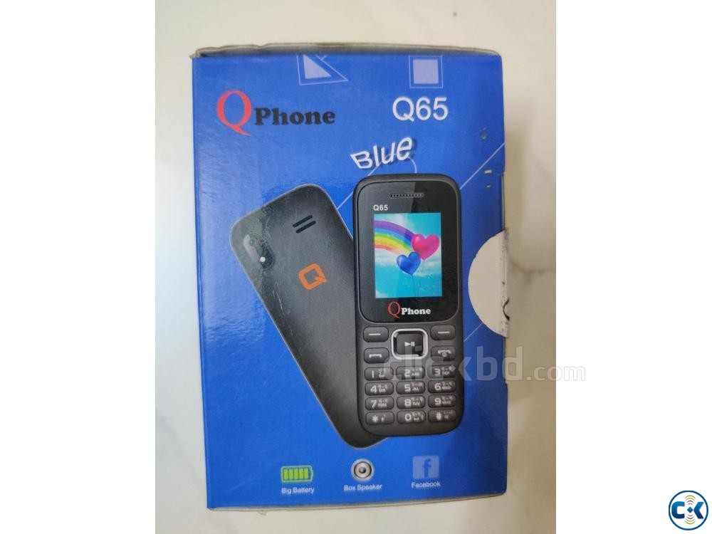 Qphone Mobile Phone Q65 card phone | ClickBD large image 3