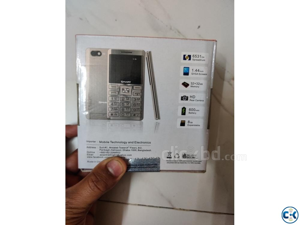 Smart S36 mini Card Phone | ClickBD large image 4