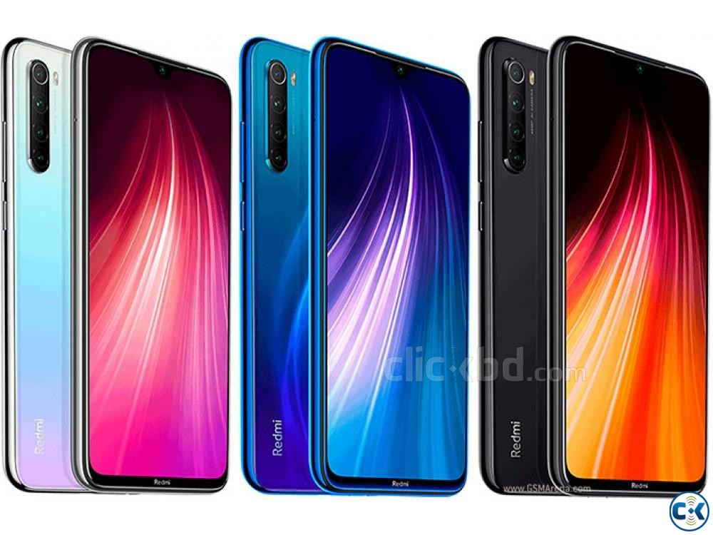 Xiaomi Note 8 64GB Black Blue White Purple 4GB RAM  | ClickBD large image 4
