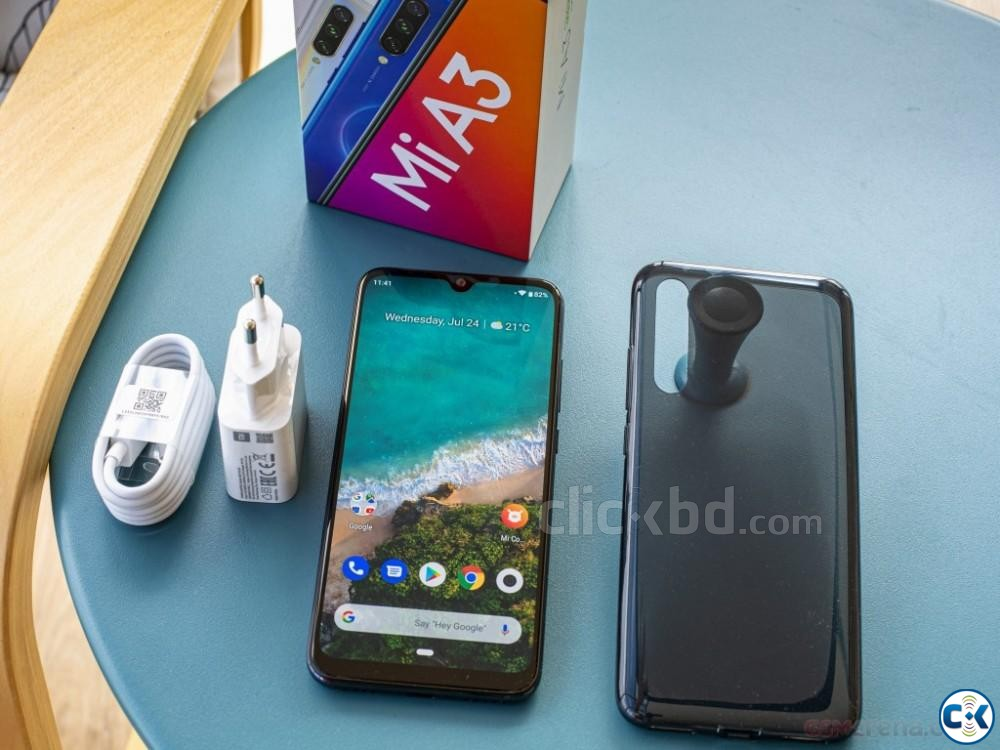 Xiaomi Mi A3 128GB Black Blue 6GB RAM  | ClickBD large image 1