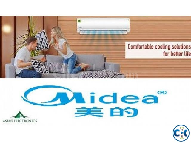 Inverter Energy Saving Midea 1 Ton Split Type Air-conditio | ClickBD large image 0