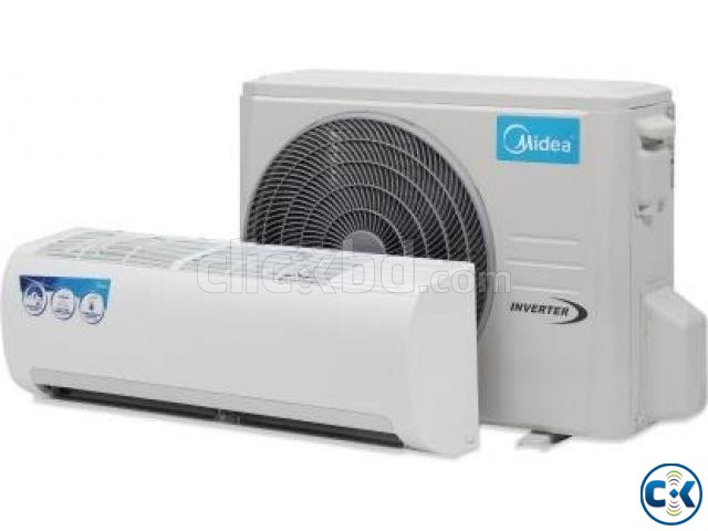 Inverter Energy Saving Midea 1 Ton Split Type Air-conditio | ClickBD large image 1