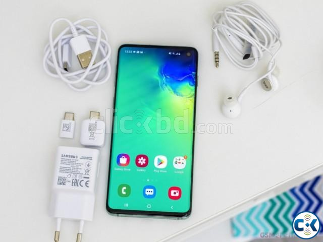 Samsung Galaxy S10 128GB Black Blue 8GB RAM  | ClickBD large image 3