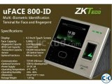 Multi-Biometric Time Attendance and Access Control Terminal